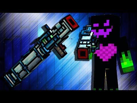 Pixel Gun 3D - ARMADILLO [Gameplay] One Shot Cannon