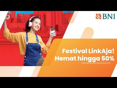 Festival LinkAja! l Hemat hingga 50%