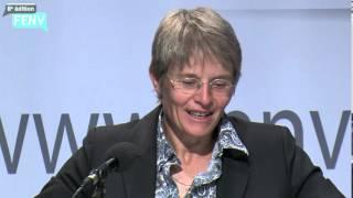 FENV 2013 /Conférence de Madame Anne-Catherine Lyon, Conseillère d'Etat