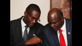 IEBC Chair Wafula Chebukati demands answers from CEO Chiloba concerning the August elections