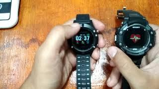 No.1 F5 vs No.1 F7 Smartwatch
