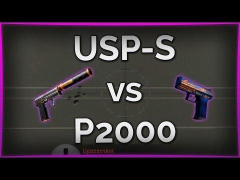 USP-S vs P2000