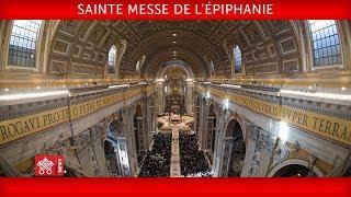 Pape François Messe de l'Épiphanie du Seigneur 2019-01-06