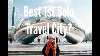 Frozen in Chicago | My first solo trip & How I did it