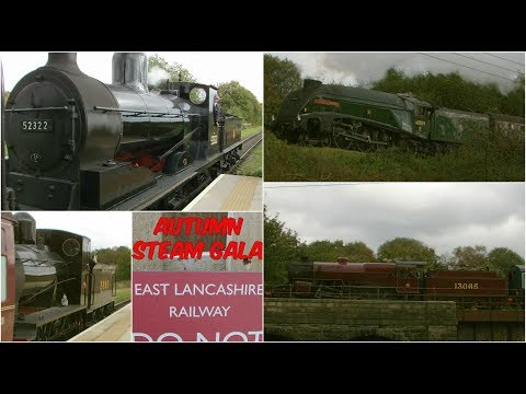 The East Lancashire Railway Autumn Steam Gala 14th October 2…