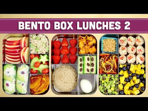 Video Bento Box Lunches | Healthy Recipes! - Mind over Munch