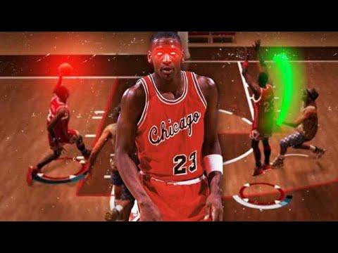 ROOKIE MICHAEL JORDAN DESTROYS HACKERS in NBA2K19