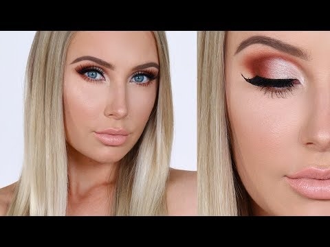 FULL GLAM First Impressions / Chit Chat / Makeup Tutorial! | Lauren Curtis