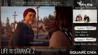 Life is Strange 2 Voice Actor Live Stream with Gonzalo Martin (Sean)