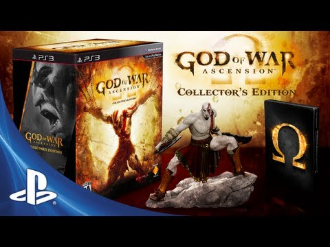 God of war ascension collectors edition game ps3 playstation unboxed god of war ascension collectors edition voltagebd