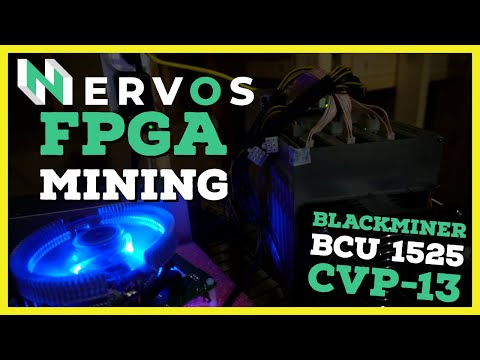Earning $15 a day FPGA Mining Nervos CKB   Review & Tutorial on Eaglesong FPGA Miners