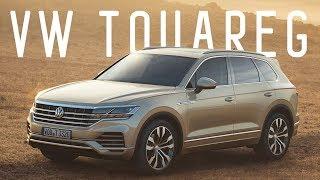 Смотреть онлайн Как выглядит новый VW Touareg 2018