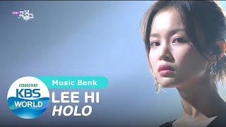 LEE HI - HOLO [Music Bank/24-07-2020][SUB INDO]