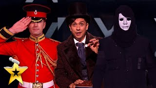 THREE of our BEST Magicians come together for spellbinding performance!   BGT: Xmas