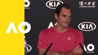 Roger Federer press conference (2R)   Australian Open 2019