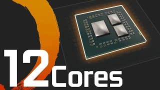 12 core AMD Ryzen CPU Spotted!