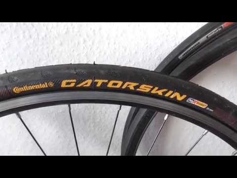 Continental Gatorskin 700x25c Road Bike Tyre Review