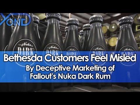 Bethesda Customers Feel Misled by Deceptive Marketing of Fallout's Nuka Dark Rum