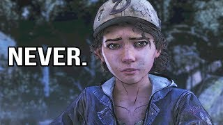 Clem Talks about Lee, Kenny, Javi and Gabe - The Walking Dead Season 4 Episode 1