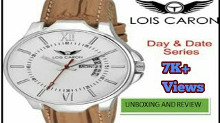 fac6745b9b7 lois caron watch unboxing - Free video search site - Findclip
