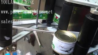 preview picture of video 'canned sardines labelling machine'