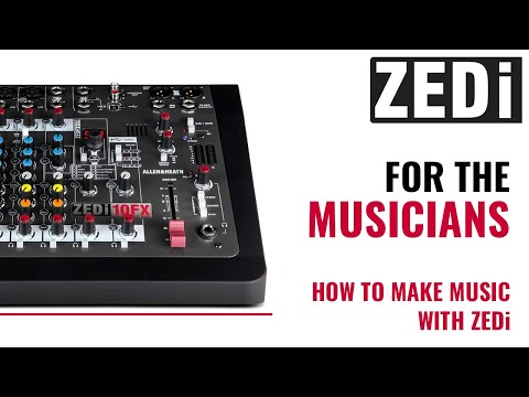 Mixing board ZEDi 10 For Musicians