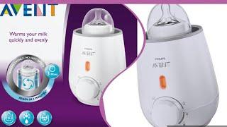 Philips Avient Bottle warmer.....How to use bottle warmer...... review of bottle warmer