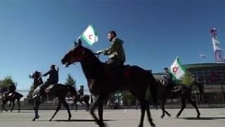 Протесты в Ингушетии, 7 октября 2018 (с) AFP