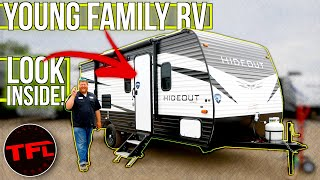 This Entry-level Hideout RV Trailer Packs A Lot Of Value For Family Adventures: TFL Camper Corner