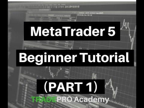 MetaTrader 5 Beginner Tutorial (Part 1)