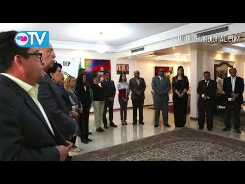 Oración por la Paz en Embajada de Venezuela en Teherán