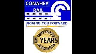 Conahey Rail 5 Year Anniversary O Gauge