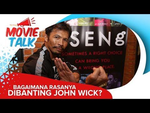 Ini Kata Cecep Arif Rahman Ketika Dibanting John Wick Berkali-Kali