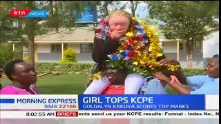 Meet Goldalyn Kakuya, St. Anne Lubao Kakamega county, top KCPE candidate 2017