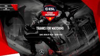 ESL Vietnam Championship - Liên Quân Mobile: Cerberus vs Siêu Dự Bị, EVOS vs VGaming