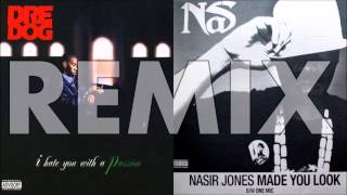 Dre Dog AKA Andre Nickatina - Piece Of My Mind (Nas - Made You Look Remix)