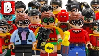Every LEGO Robin Minifigure Ever Made!!! | 2017 Collection Review!