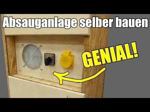 (1/4) Absauganlage selber bauen |Die beste auf Youtube!