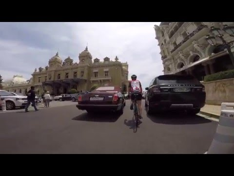 Cycling from Sanremo to Monaco