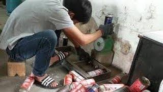 """""""Bom gas"""" mini trực chờ phát nổ ở Thái Nguyên"""
