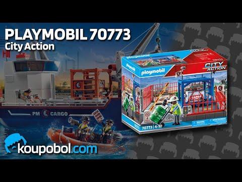 Vidéo PLAYMOBIL City Action 70773 : Espace de stockage