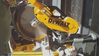 DWS780 Review How to Use Miter Saw Dewalt Double Bevel