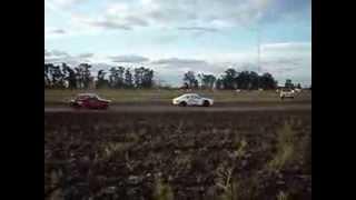 preview picture of video 'Largada Final TC 1600 - Rosario del Tala'