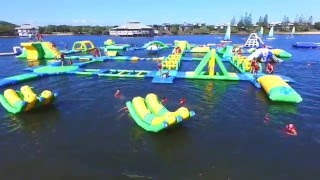 Red Jacket Waterpark Sunshine Coast Park Layout