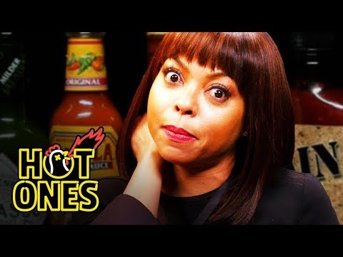 , title : 'Taraji P. Henson Needs a Stunt Double to Eat Spicy Wings | Hot Ones'