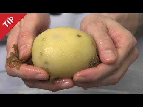 How to Peel a Potato with Your Bare Hands