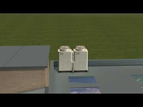 Ecodan Commercial Heating School Application
