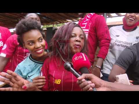 Uganda's Liverpool fans celebrate 2019/20 EPL win