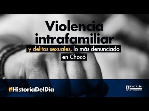 Violencia intrafamiliar y delitos sexuales, lo más denunciado en Chocó