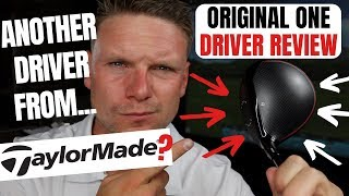 TAYLORMADE ORIGINAL ONE MINI DRIVER REVIEW
